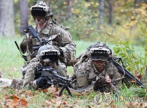 미 육군,증강현실 헤드셋 사용한다…MS와 24조원 규모 공급 계약