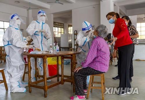 중국, 미얀마 국경도시 코로나19 환자 증가세에 긴장
