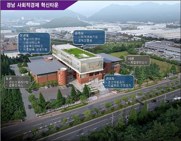 경남 사회적경제 혁신타운 '첫삽'…내년 3월 준공