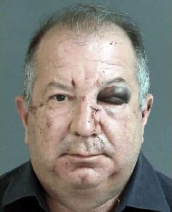 애인 폭행하다 참교육 받은 남성…다른 여성 강펀치에 'KO'