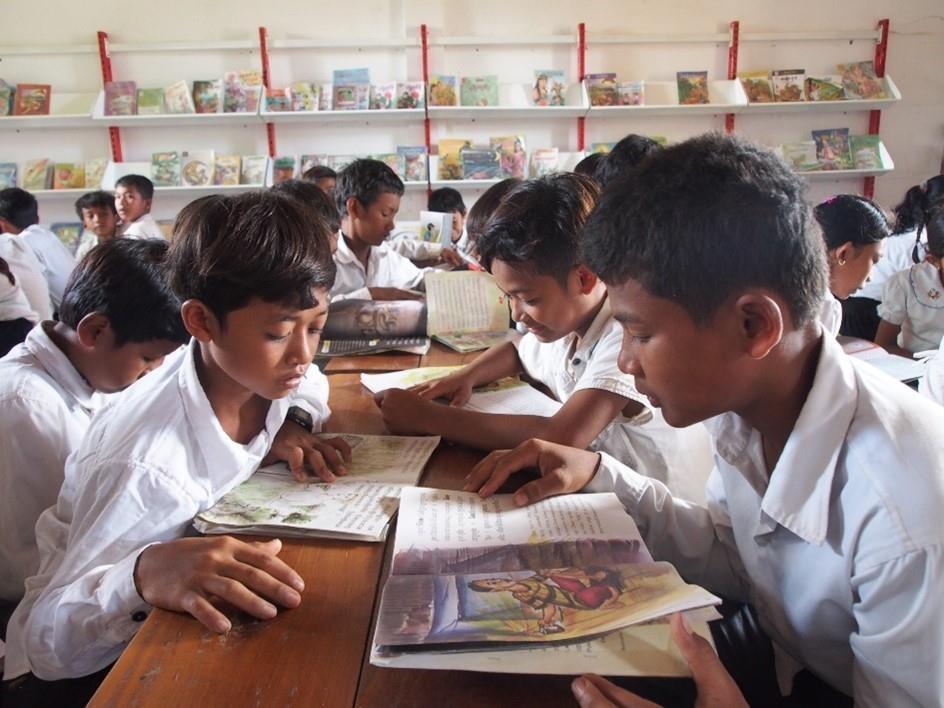불교계 NGO 지구촌공생회 '개도국 청소년에 책 보내기' 캠페인