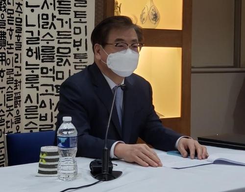 """서훈 """"한미일, 북핵문제 시급성·북미협상 조기재개 노력 공감""""(종합2보)"""