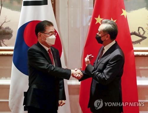 """중국 외교부 """"한국, 중국의 CPTPP 가입 제의 환영"""""""