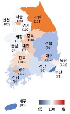 제조업 체감경기 27분기 만에 최고…'수출 개선·백신효과'
