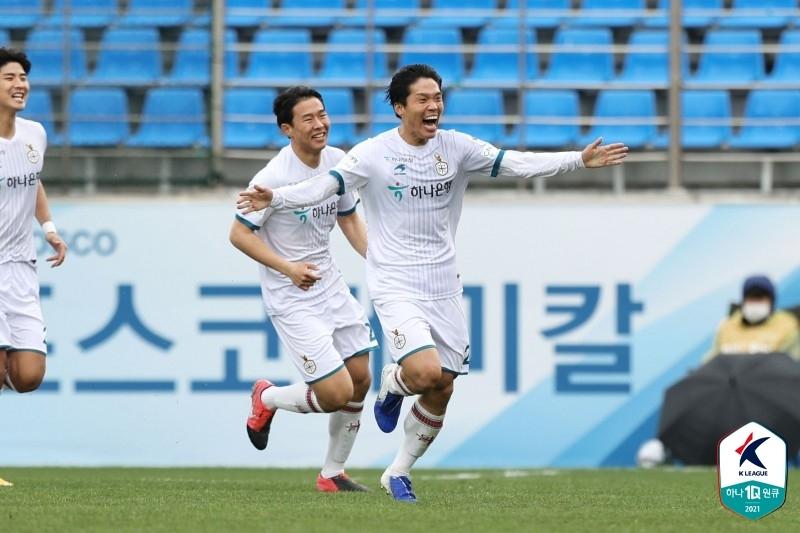 K리그2 대전, '사무엘 자책골' 전남 꺾고 시즌 첫 연승