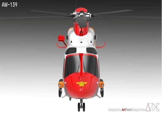 소방헬기 새 옷 입는다…올해부터 표준화된 디자인 적용