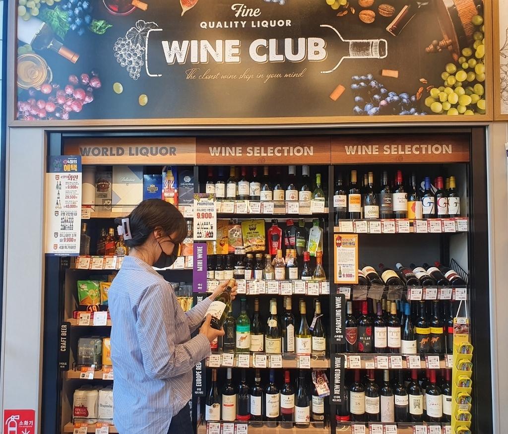 """와인 인기에…이마트24 """"1분기 80만병 판매, 1분에 6병꼴"""""""