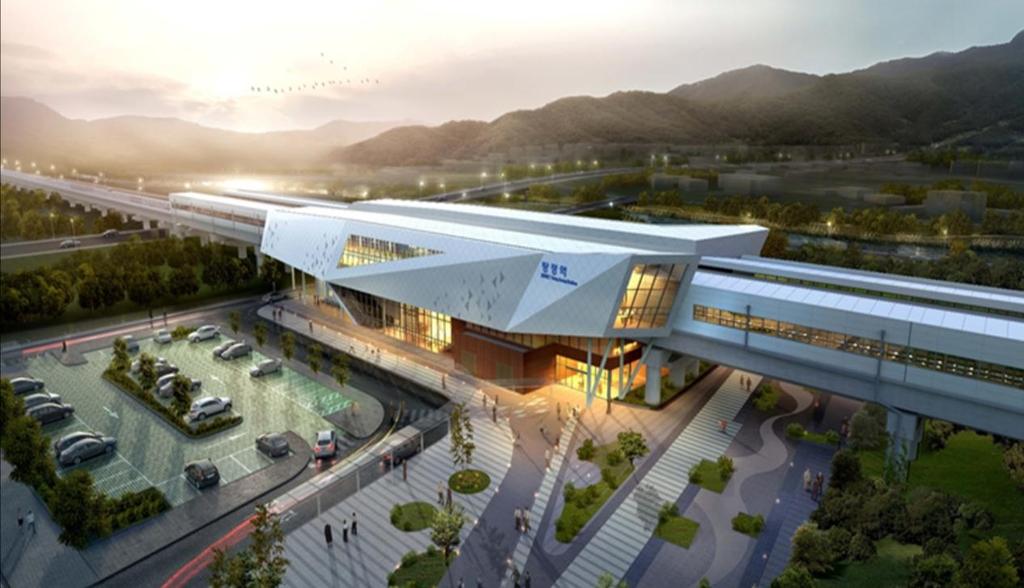 장항선 탕정역 8월 완공…철도시설물 안전 사전 점검