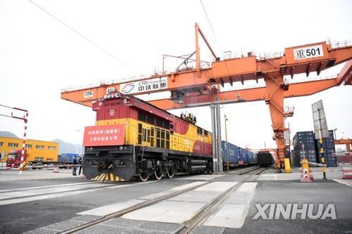 중국매체, 수에즈운하 사태 틈타 일대일로 철도 띄우기