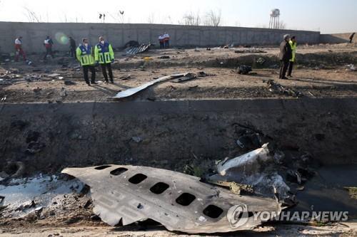 이란, 176명 사망 우크라이나 여객기 격추 관련 10명 기소