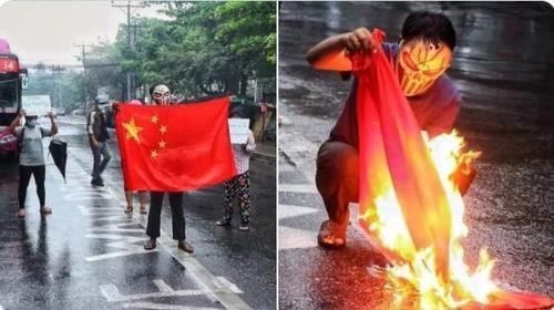시진핑 조롱 곰돌이 푸 가면 쓰고 '메이드인차이나' 포스터에 불