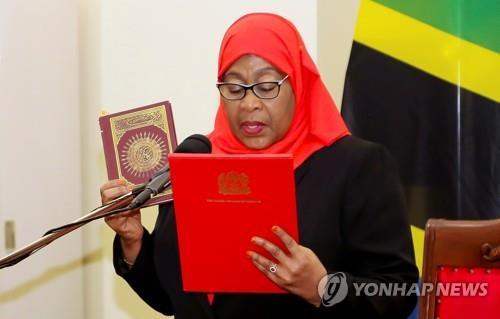 탄자니아 신임 대통령, 코로나19 대응·언론자유 등 변화 예고