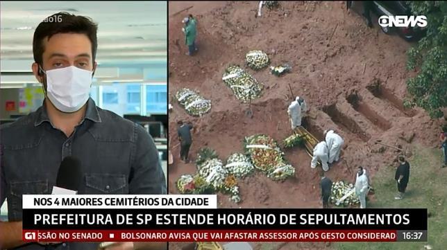 브라질 '비극의 4월' 현실화하나…코로나 하루 사망 첫 4천명대