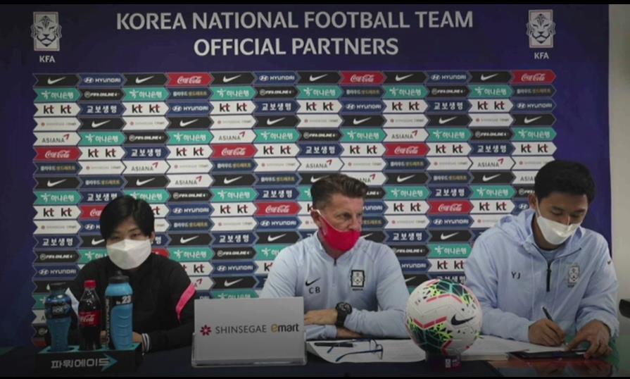 """중국전 앞둔 벨 감독 """"역사를 만들겠다…동기부여 충만"""""""