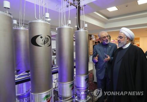 """이란 """"연내 20% 농축 우라늄 120㎏ 생산할 것"""" 미국 압박"""