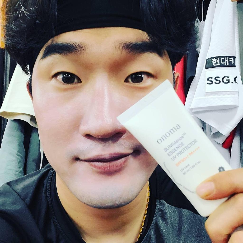 시코르, SSG 선수단·볼보이에 자외선 차단제 1천개 선물