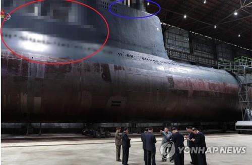 """""""북한, 3천t급 잠수함 건조 끝냈다""""…한미 정보당국 평가"""