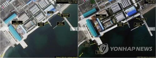 """""""북한, 3천t급 잠수함 건조 끝냈다""""…한미 정보당국 평가(종합)"""
