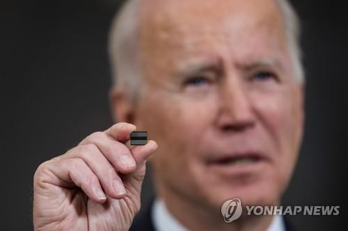 """백악관 12일 반도체 회의에 삼성 등 19개사 참석…""""공급망 복원"""""""