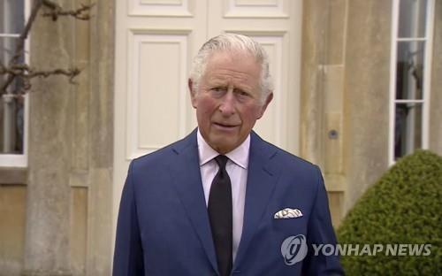 """부친 떠나보낸 영국 찰스 왕세자 """"마이 디어 파파…몹시 그립다"""""""