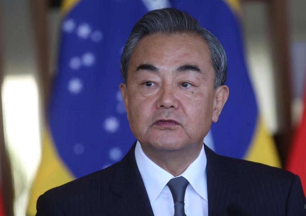 """中 왕이 """"브라질과 전략적 협력 원해…다자주의 이익 공유"""""""
