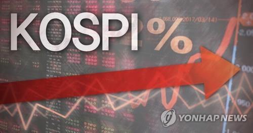 코스피 강보합세…LG·SK 합의에 2차전지주 강세(종합)