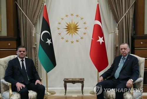 터키·리비아 정상회담…터키 측 EEZ 주장 인정