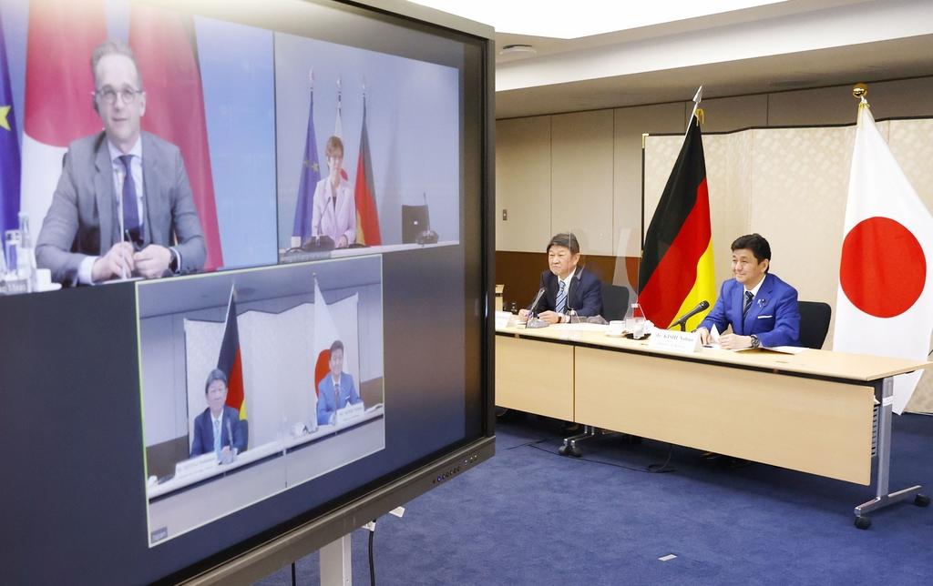 일본, 독일과 첫 외교ㆍ국방각료 회의…안보협력 방안 논의