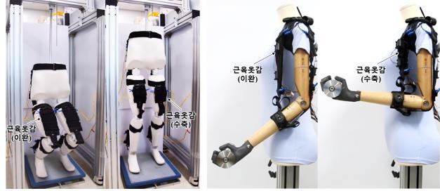 '택배·건설 노동도 거뜬'…기계연, 근육 옷감 로봇 개발