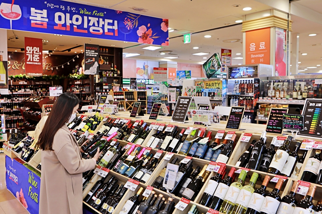 식지 않는 와인 인기…롯데마트 와인장터 3년새 최고 매출