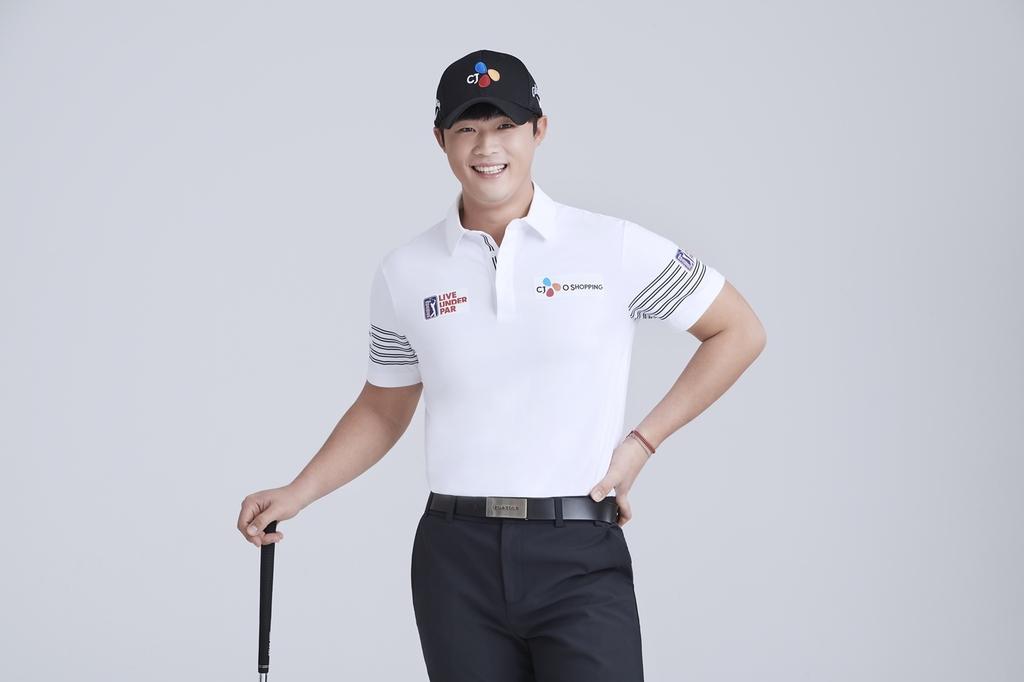 [골프소식] CJ오쇼핑, 국가대표 출신 배용준과 후원 계약