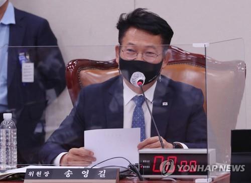 """당권주자 송영길 """"조국은 지나간 일…꼰대정치 않겠다"""""""