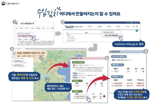 정부, '중국 알몸김치' 논란 속 해외 김치제조사 전체 현지실사(종합)