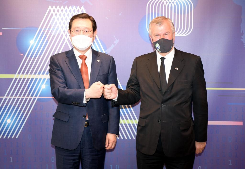 사이먼 스미스 주한 영국 대사 광주 방문…기후변화 대응 논의