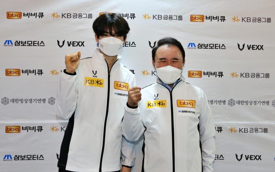 윤홍근 빙상연맹 회장, 차준환 등 피겨 세계선수권 선수단 격려