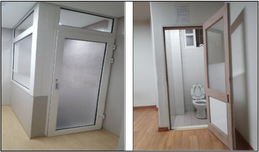 검찰, 구치감 화장실 완전 밀폐형으로 개선
