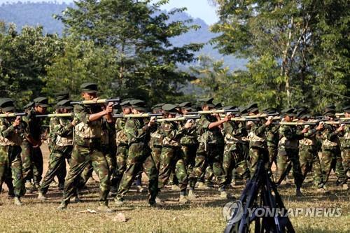 소수민족 요직 미얀마 국민통합정부 구성…연방군 창설 가속