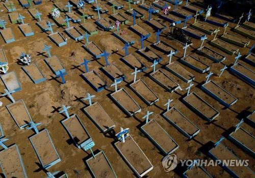 팬데믹 1년 만에 코로나19 사망 300만명…인천 인구 규모