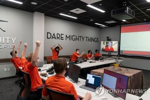 우주 헬기의 첫 화성 비행장소, '라이트 형제 필드' 명명