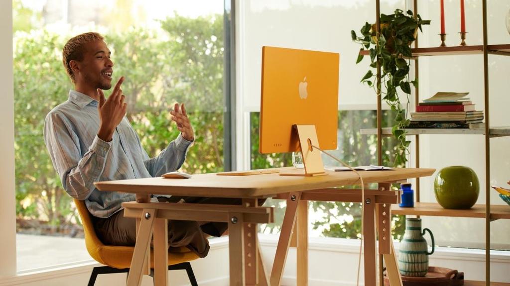 애플, 두께 1㎝로 얇게 한 화면 일체형 PC '아이맥' 신형 공개