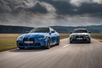 BMW, 뉴 M3 컴페티션 세단·뉴 M4 컴페티션 쿠페 국내 출시