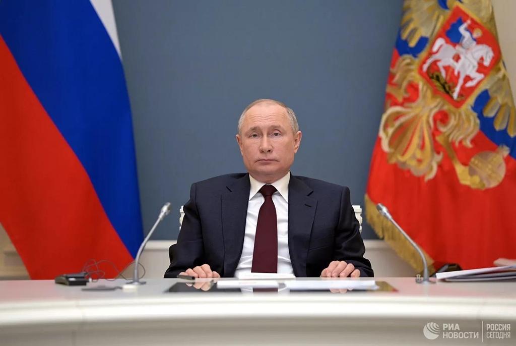 푸틴, 각국에 기후변화 대응 국제 프로젝트 참여 호소