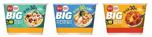[금주신상] 30% 커진 'CJ햇반컵반'·치킨 맛 빵 'SPC파바닭'