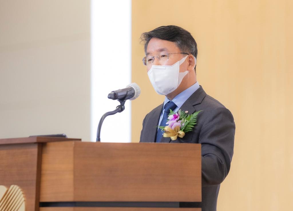 """이승우 한국남부발전 사장 취임…""""탄소중립 에너지전환 선도"""""""