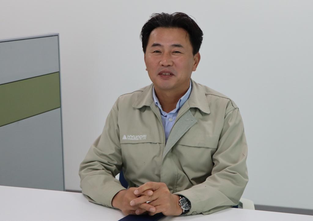 광주글로벌모터스 건설 진두지휘…현대엔지니어링 조철호 소장