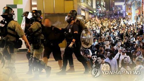 홍콩, 2019년 시위 이후 구치소 과밀수용에 골머리