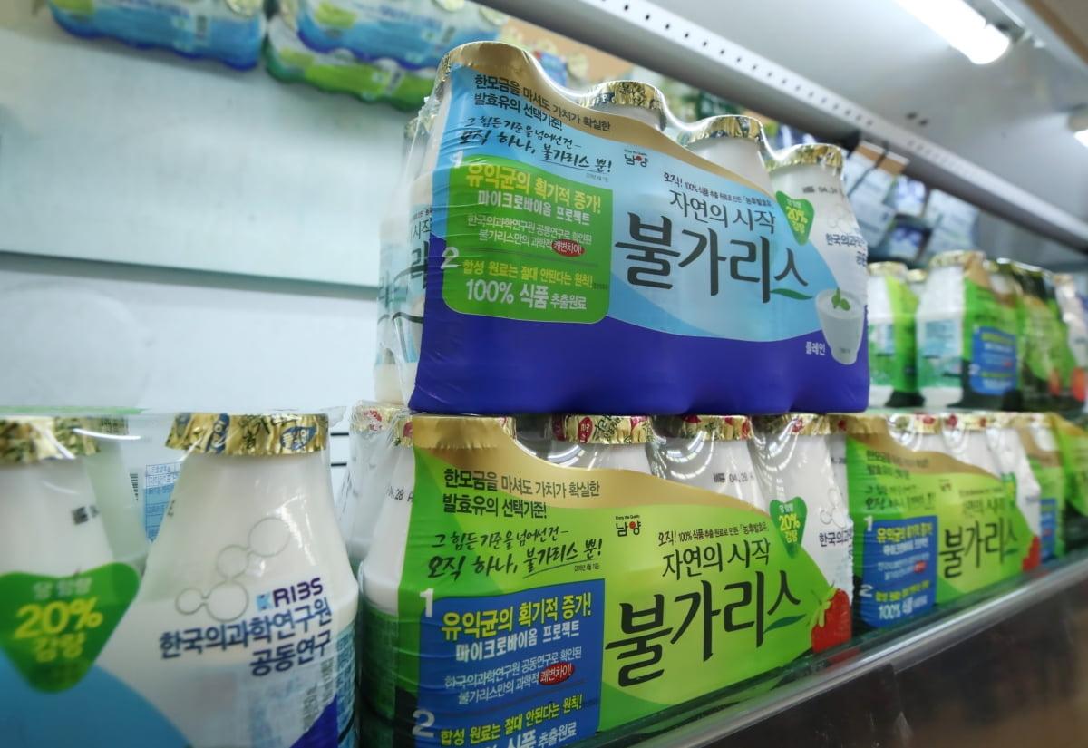 `발효유` 파문 남양유업…갑질 사태 후 8년째 주가 내리막