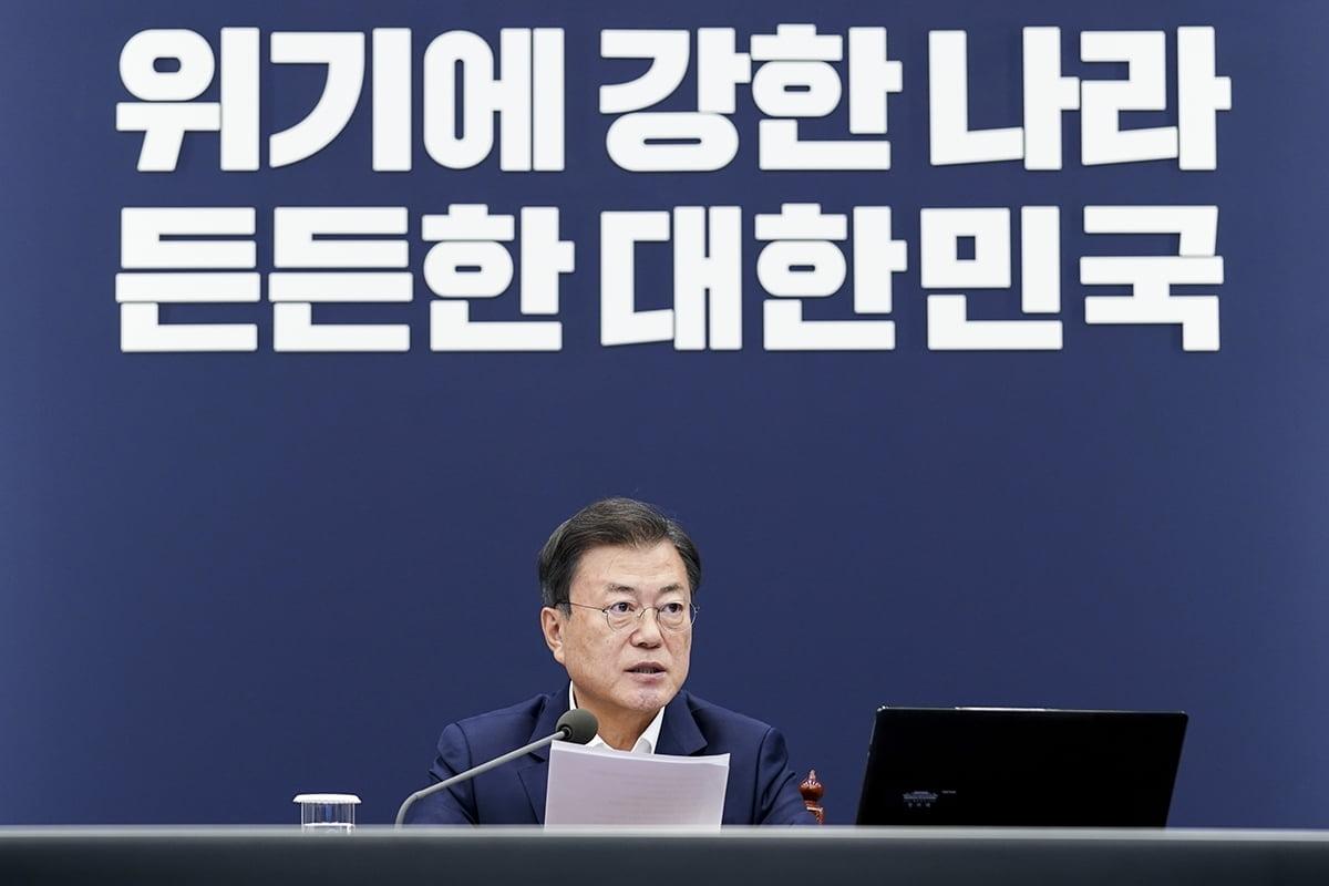 """文대통령, 오늘 오세훈·박형준과 오찬…""""협치의 자리"""""""