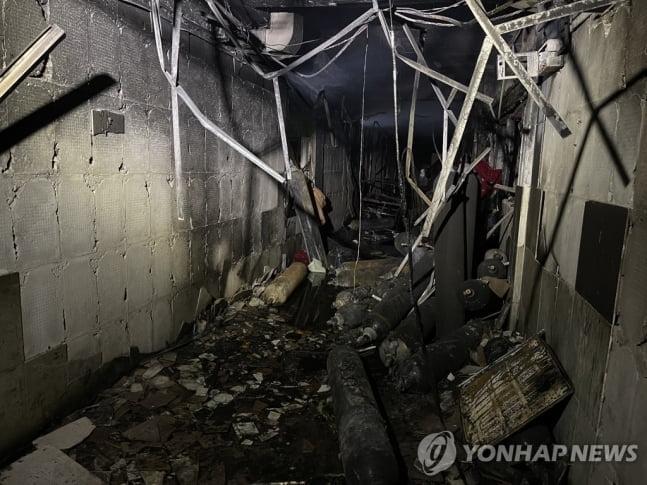 이라크 바그다드 병원 화재…코로나 환자 등 수십명 사망