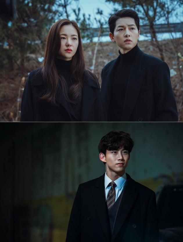 '빈센조' 전여빈 송중기 /사진=tvN